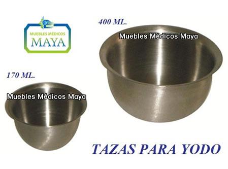 Equipo y accesorios de acero inoxidable para hospitales for Cubetas de acero inoxidable