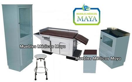 Muebles medicos de lamina para consultorios medicos for Muebles medicos