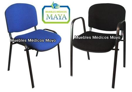 Muebles para oficina y muebles para salas de espera for Sillas de visita para oficina